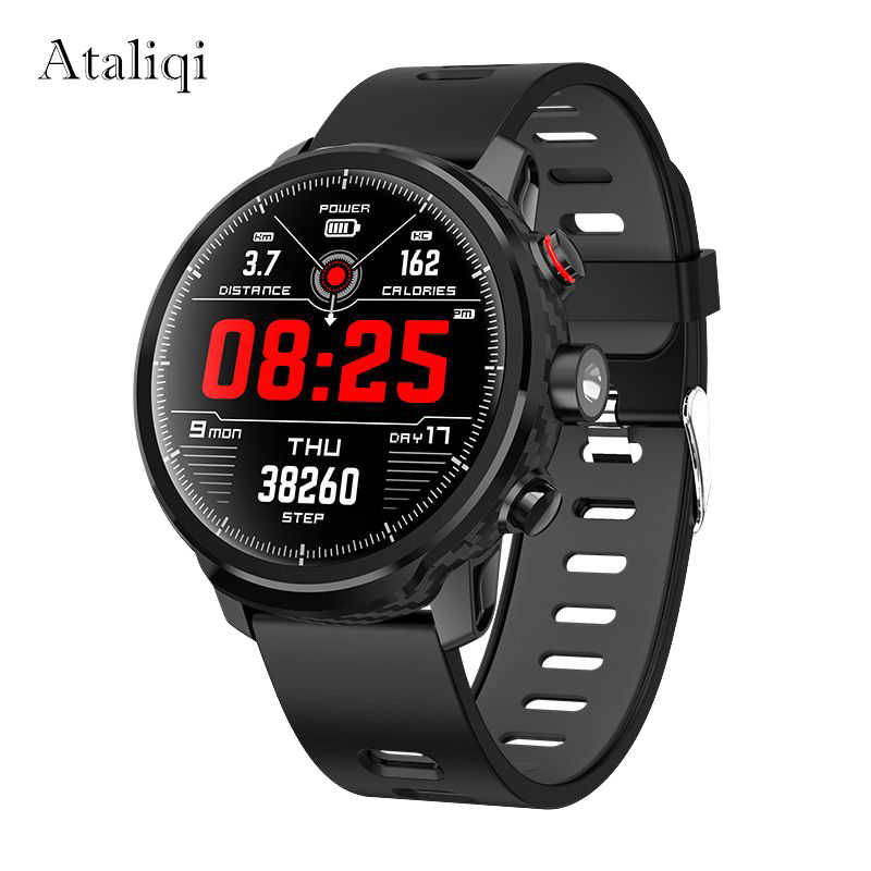 Ataliqi Smart Watch Men IP68 Waterproof Standby 100 Days Multiple Sports Mode Heart Rate Weather Forecast Swimming Smartwatch