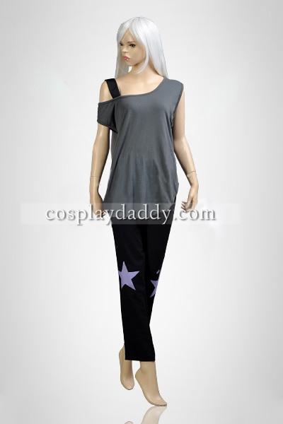 Steven Universe Amethyst Girls Summer Wear Set Cosplay Kostum L005
