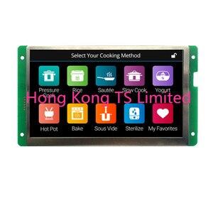 Image 3 - DMT10600C070_07W 7 дюймовый последовательный экран HD IPS экран RTC сенсорный экран музыкальный плеер DMT10600C070_07WT DMT10600C070_07WTR
