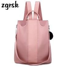Girl For Women Transparent Backpack Korean Style Pink Retro Fashionable School Bags Teenage Girls Back Pack Purse Bookbags