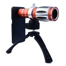 20x Высокого класса Оптический Зум Телефото Телескопа Объектив Kit + Штатив Телефон Случаях Мобильный Телефон Камеры 3in1 Линзы Для Samsung iPhone