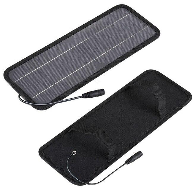 Мощный 12 В 4.5 Вт Солнечное Зарядное Устройство Portable Солнечное Зарядное Устройство Для Автомобилей Лодочный Мотор + <font><b>USB</b></font> Автомобильное Зарядно&#8230;