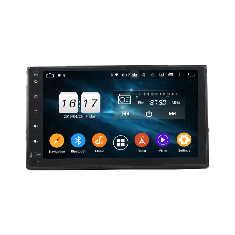 9 inch 4+32G Android 9.0 car multimedia Player for TOYOTA Corolla 2017 with GPS Wifi NO DVD