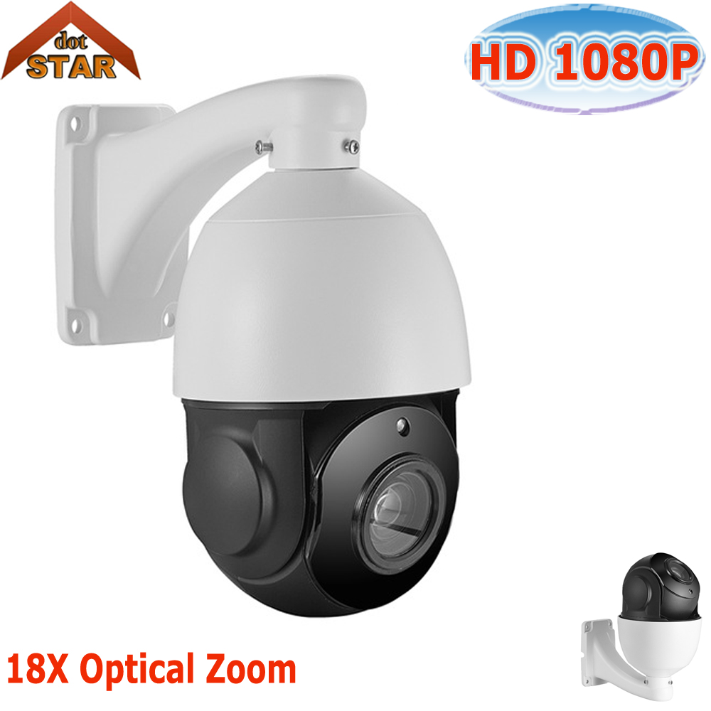Mini PTZ IP Camera 4.5'' 2.0MP High Speed Dome Camera IP Outdoor 960P/1080P 18X Optical Zoom Waterproof ONVIF CCTV CAM
