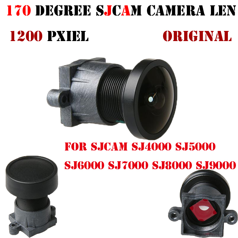 Original SJCAM SJ4000 Lens 170 Degree Wide Angle Camera Len for SJCAM SJ4000 WIFI SJ5000 SJ6000 SJ7000 SJ8000 SJ9000 Accessories
