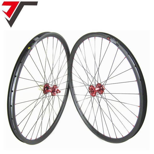 c19ce394e92 TRIPS cheap 29'' carbon wheels tubeless 29inch Mountain Bike Wheelset  Hookless Carbon 29er Wheel 27mm width XC Carbon MTB Wheels