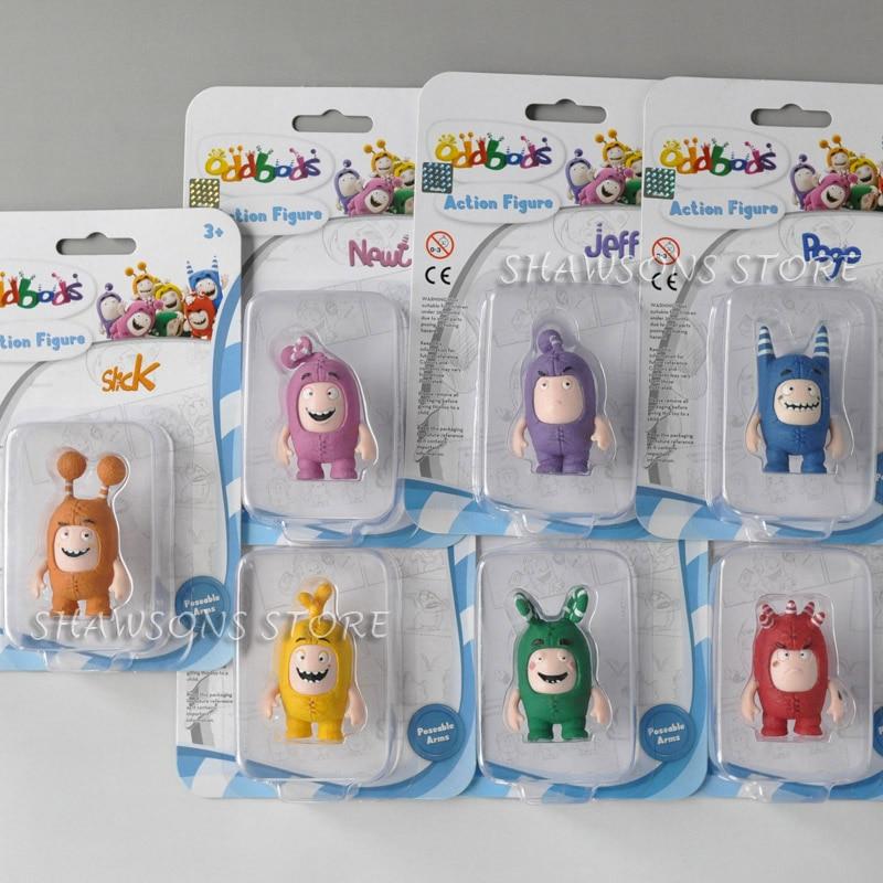 Action-Figures Tv-Toys Newt Slick Jeff Oddbods Zee Original Fuse Bubbles Pogo 2-