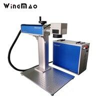 10w 20w Chinese Portable Fiber Laser Engraving Marking Machine Metal Laser Engraving For Ring