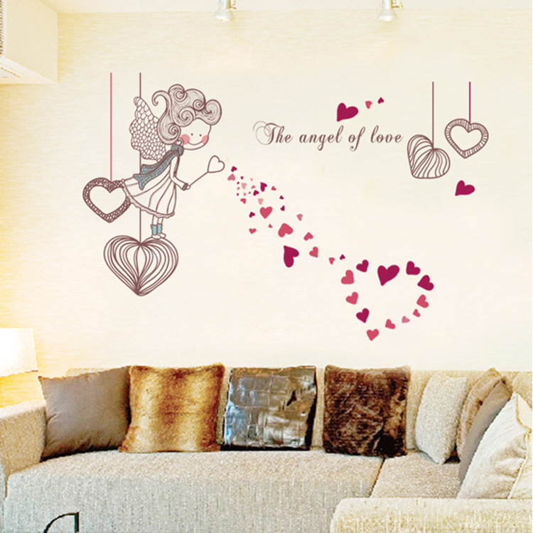 Home Decor For Sale: Wall Decor Rushed Hot Sale For Wall 2015 Cute Girl Fashion