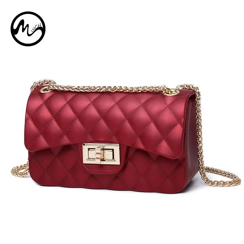 99985160ea Detail Feedback Questions about MINCH Women Jelly Bags Luxury Handbags  Women Bags Designer Lattice Shoulder Bag Tote Beach Bag Scrub Handbags For  Women 2018 ...