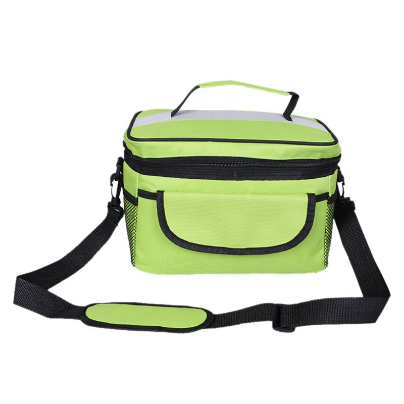8L Food Beverage Storage Organization Oxford Sports Leisure Picnic Outdoor Lunch Dinner Bag Cooler Camping Pack Bag 2018 New