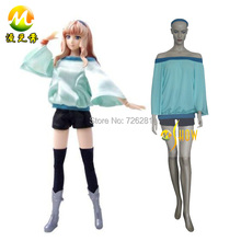 Venta caliente de lechuga romana del anime especial dress mujer macross frontier sheryl nome cosplay cualquier tamaño para la señora del envío libre