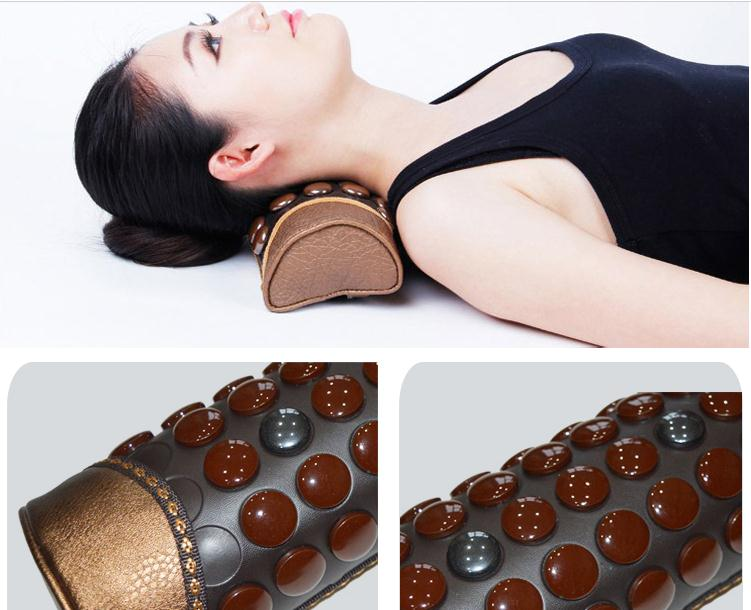 Beauty salon germanium stone pillow cervical neck pillow health care pillow ms tomalin stone keeping in good health купить дешево онлайн
