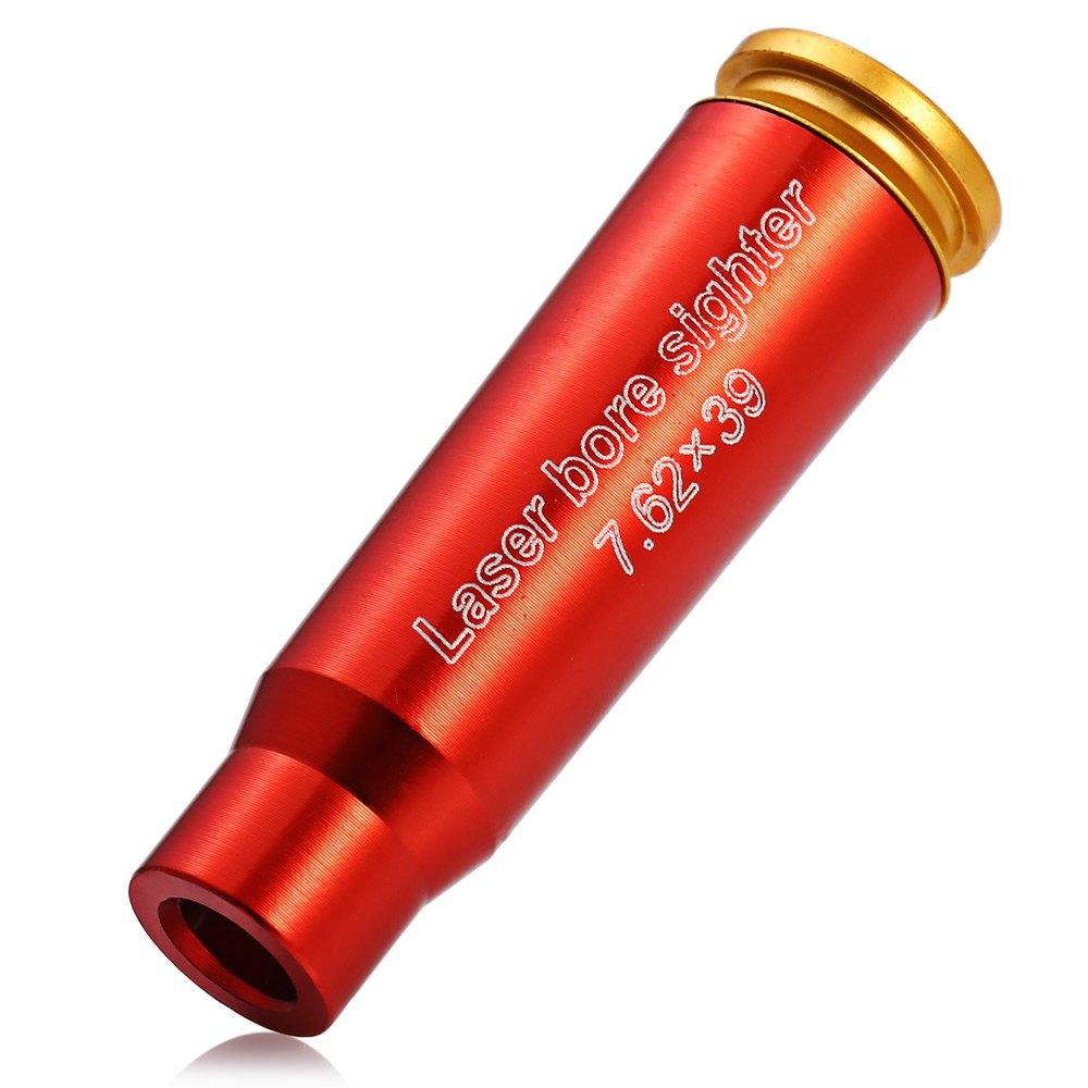 Цена за CAL 7.62x39 Красный Лазерный Картридж Диаметр Sight Boresighter Sighter Brass Прицельная Caliber для Охоты Пейнтбол Оптического Оборудования