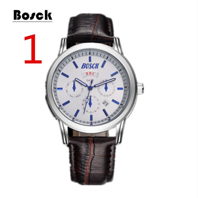 Fashion leather belt men's watch large dial luminous quartz watch waterproof calendar men's watch fashion large dial casual creative leather quartz sport watch