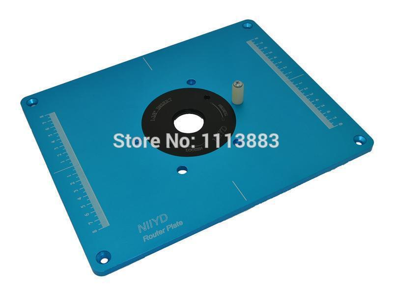 Router table insert plate with pre drilled holes and 3 removable router table insert plate with pre drilled holes and 3 removable rings to match different bit diameters for bosch mrc23evsk on aliexpress alibaba greentooth