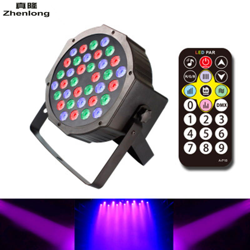 UV RGB Stage Light 36 LEDS PAR Light Disco DJ Lighting Club Party light Strobe AC110-220V EU US Plug mini rgb led party disco club dj light crystal magic ball effect stage lighting