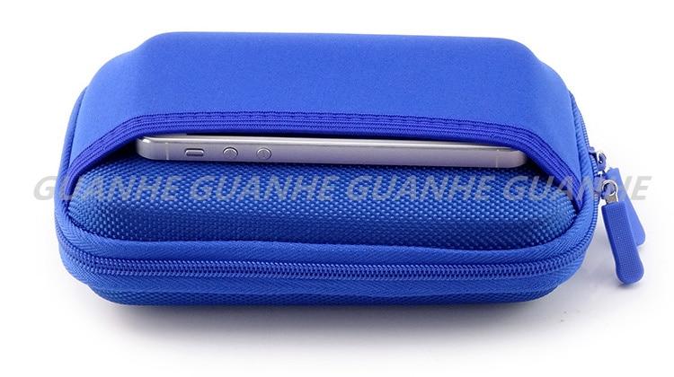 GUANHE 2.5 inch SSD HDD Kabel Organisator Tas USB Flash Drive Opslag - Externe opslag - Foto 6