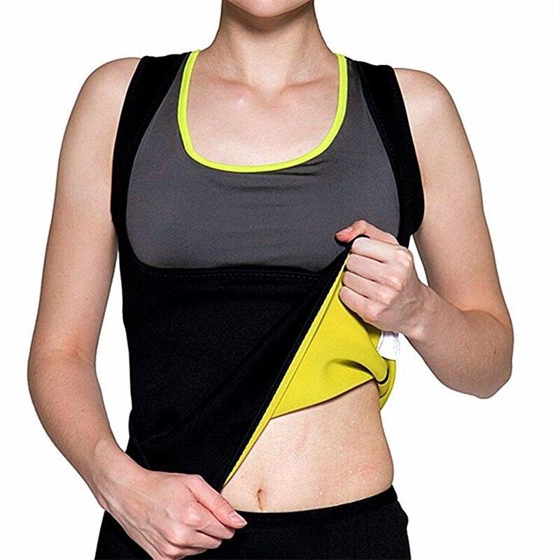 Las mujeres Shaper cuerpo Shaper Fitness adelgazamiento tanques culturismo cintura entrenador de sudor Sauna adelgaza pérdida de peso Shpewear