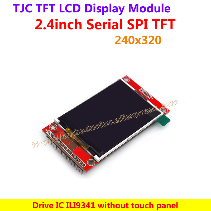 """2.2/"""" TFT LCD Module without Touch Panel ILI9341 Drive IC 240x320 SPI 4 IO"""