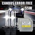 12 V 55 W Todo en uno xenon hid kit, C5 AC sola viga ocultó el Kit 9004 9007