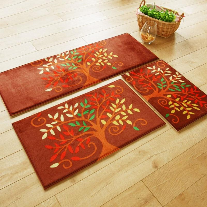 1 Pc 45 120 Cm Panjang Dapur Pintu Karpet Dalam Maksimum Anti Kelelahan Floor Alas Permadani Ikan Bunga Pohon Cinta Di Matras Keset Dari