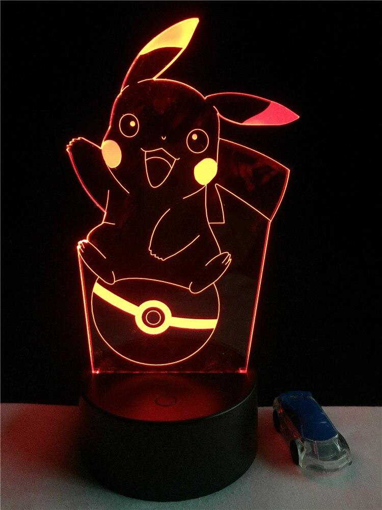 Luzes da Noite natal night light Modelo Número : Pikachu