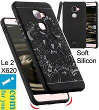 Падение сопротивления Прочный Броня Cover Case Для Пусть V LeEco Le 2 Pro X620 Макс 2X820 Силиконовой Резины 3D резной дракон Протектор