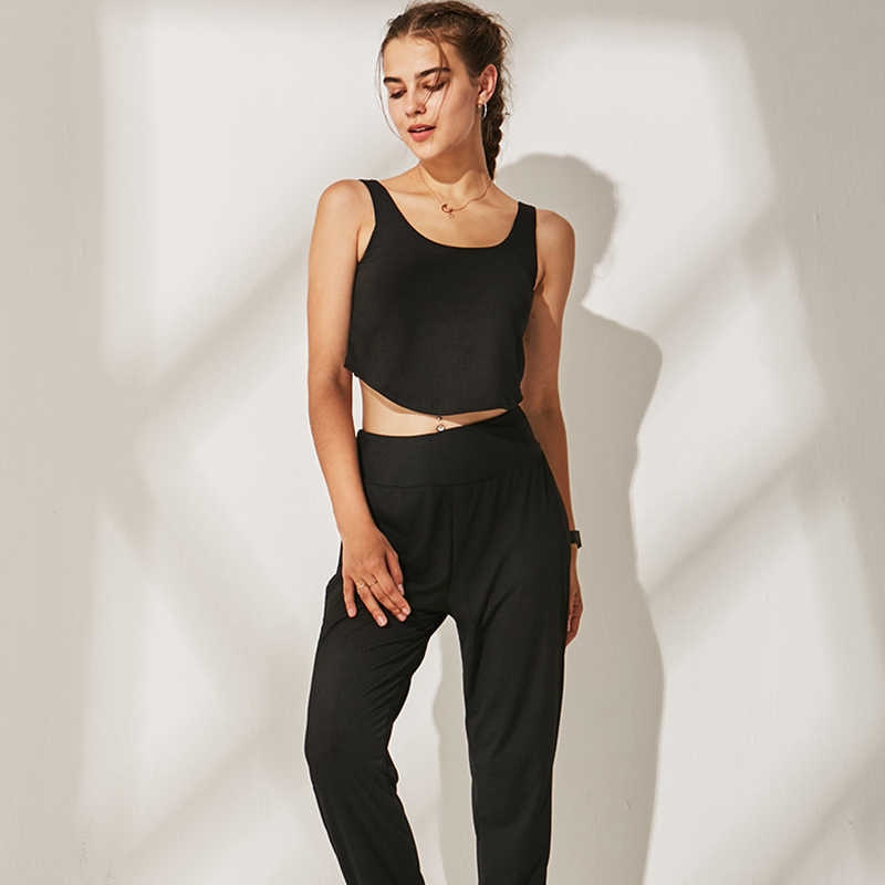 Women Yoga Set Gym Fitness Clothes Elastic Top+Pants Spandex Running Tights Women Sports Leggings Fitness Yoga Plus Size