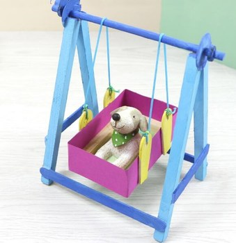 Miraculous Diy Rocking Chair Cradle Bed Placarders Baby Diy Jigsaw Puzzle Toys Wooden Children Educational Toys Onthecornerstone Fun Painted Chair Ideas Images Onthecornerstoneorg