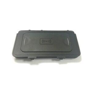 Image 4 - 10 вт автомобильное беспроводное зарядное устройство QI, беспроводное зарядное устройство для мобильного телефона, автомобильные аксессуары для VW T roc Teramont Phideon для Jetta 2019