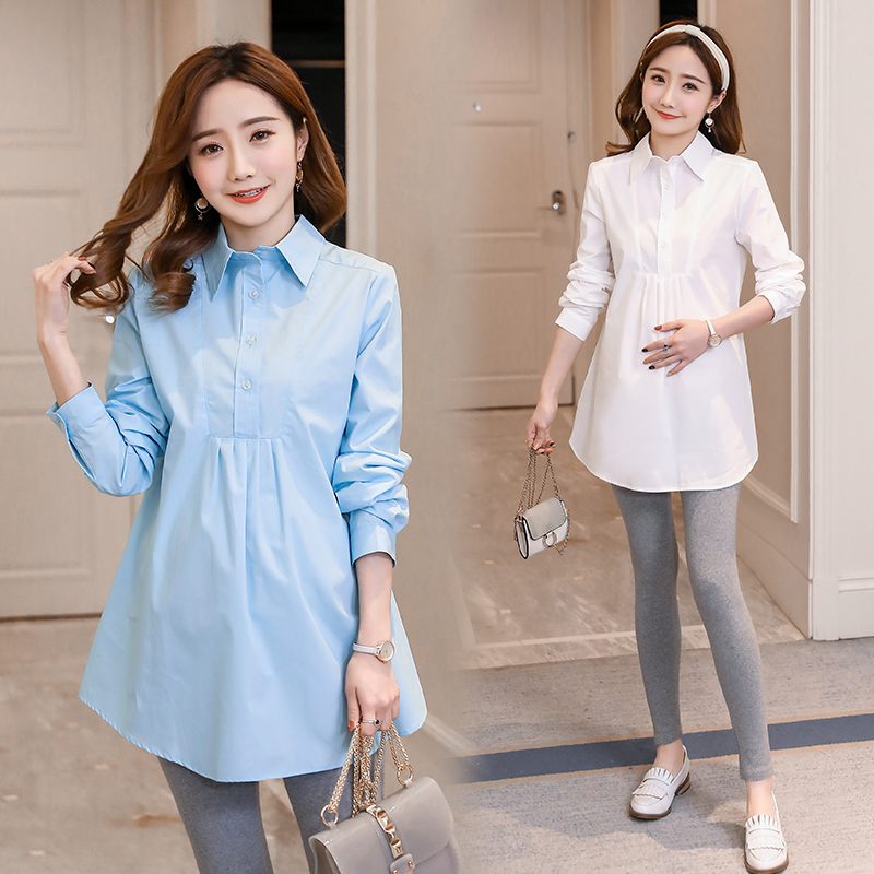 Maternity Collared Work Shirts Cheap Online