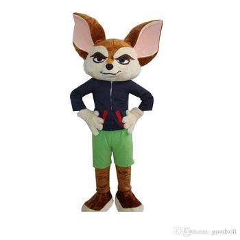 ¡Producto en oferta! Zorro de Zootopia nick mascota personaje de dibujos animados muñeca cumpleaños fiesta disfraces de animales personalizado tamaño adulto