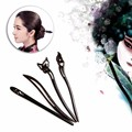 Chinese Traditional Womens Wooden Beads Clasps Hairpin Classical Lady Hair Stick