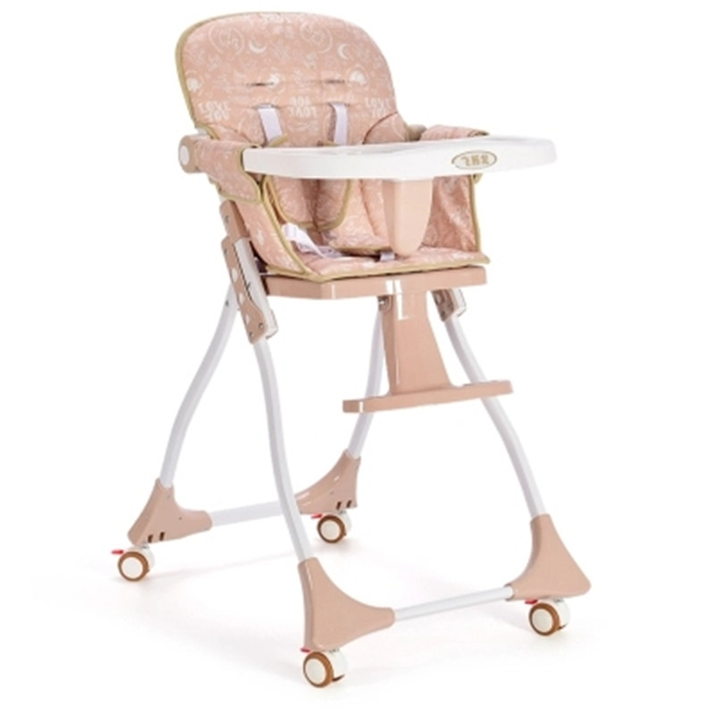 Portable Baby Dining Chair Folding Child Kid Baby Dinner Table Lightweight Infant Children Eating Chair