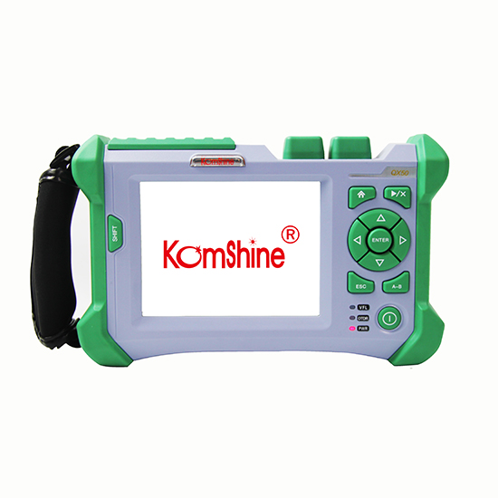 Komshine QX50 P1 1310 1490 1550nm 32 28 30dB PON optical fiber OTDR with SC FC LC connectors in Fiber Optic Equipments from Cellphones Telecommunications