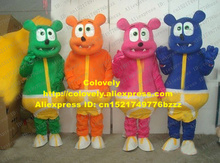 Colovely Fancy Colorful Gummy Bear Mascot Costume Mascotte Gummibar Adult With Yellow & Buy adult gummies and get free shipping on AliExpress.com