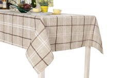 YO HOOM Kitchen Cotton Tablecloth Tablecover Coffee Table Cloth Table Cover Simple Red Color Optional цена