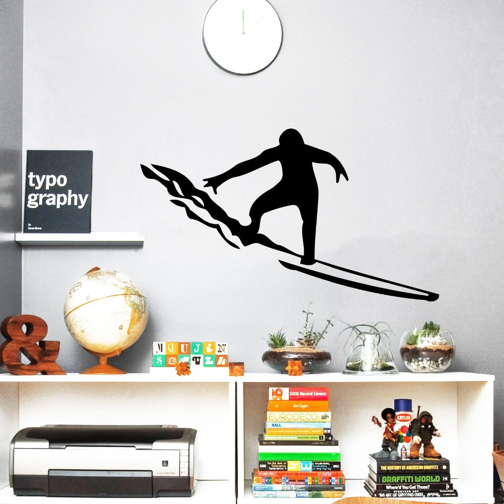 online buy wholesale surf stickers from china surf. Black Bedroom Furniture Sets. Home Design Ideas
