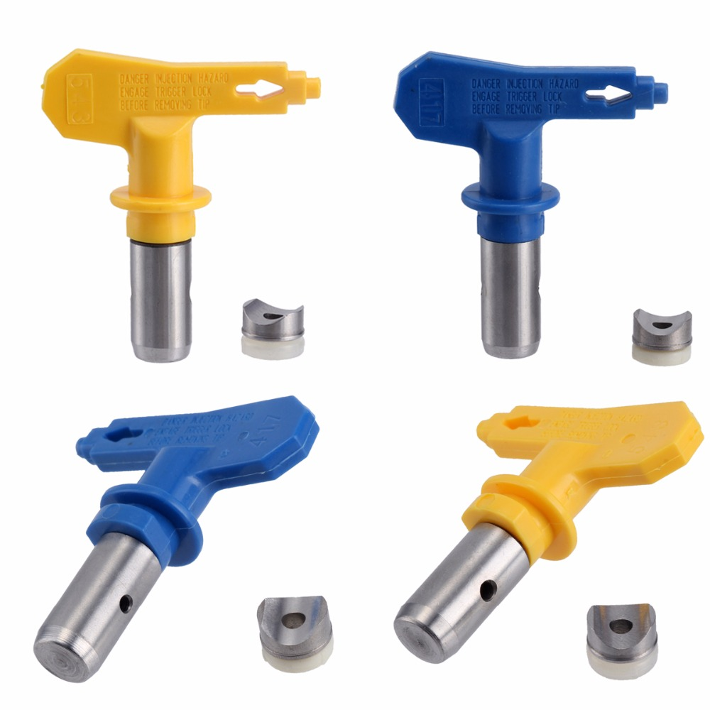 Universal 5/6 Series Airless Paint Spray Sprayer Tip 211 213 215 217 241 313 315 221 311For Graco Titan Wagner Nozzle Tool Kit  цены
