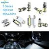 17pcs LED Canbus Interior Lights Kit Package For BMW 5 Series E60 E61 2004 2010