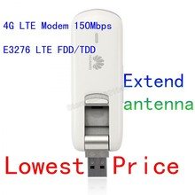 Débloqué E3276s-150 HUAWEI 4G LTE modem Étendu antenne LTE FDD/TDD USB Modem 150 Mbps LTE usb modem 2G 3G 4G usb