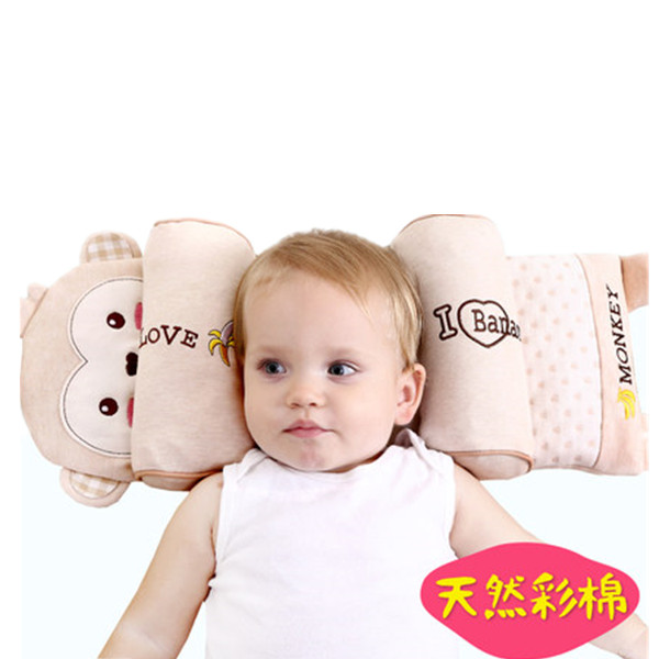 100% Quality 0-3 Years Old Baby Headrest Multifunctional Cartoon Animal Baby Pillow For Baby Sleep Pillow Baby Bedding