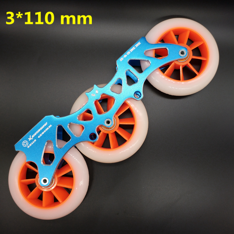 free shipping roller skates frame 243 mm bat frame 4 x <font><b>80</b></font> mm 3 x 110 mm <font><b>2</b></font> in <font><b>1</b></font> image