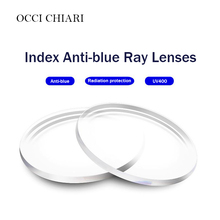 Anti blue Single Vision Resin Lenses Aspheric Lenses for Myopia Hyperopia Prescription Eyeglasses UV400 Optical Lens Customized