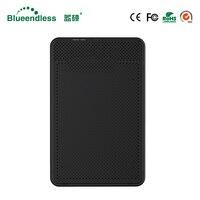 Blueendless 2.5' External Enclosure HDD Case Plastic Sata USB HD Caddy USB Hard Disk Box Laptop External Hard Drive Enclosure|HDD Enclosure|   -
