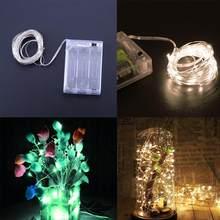 50 LED 5 m Leggiadramente Della Stringa Della Luce Catena Finestra Ghirlanda di Illuminazione di Festa Festa di Nozze Decorazion