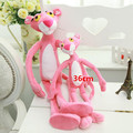 """1pcs 14.2"""" 36 CM NICI Cute Pink Naughty Leopard Pink Panther Plush Stuffed Toys Baby Kids Doll Brinquedos Free Shipping"""