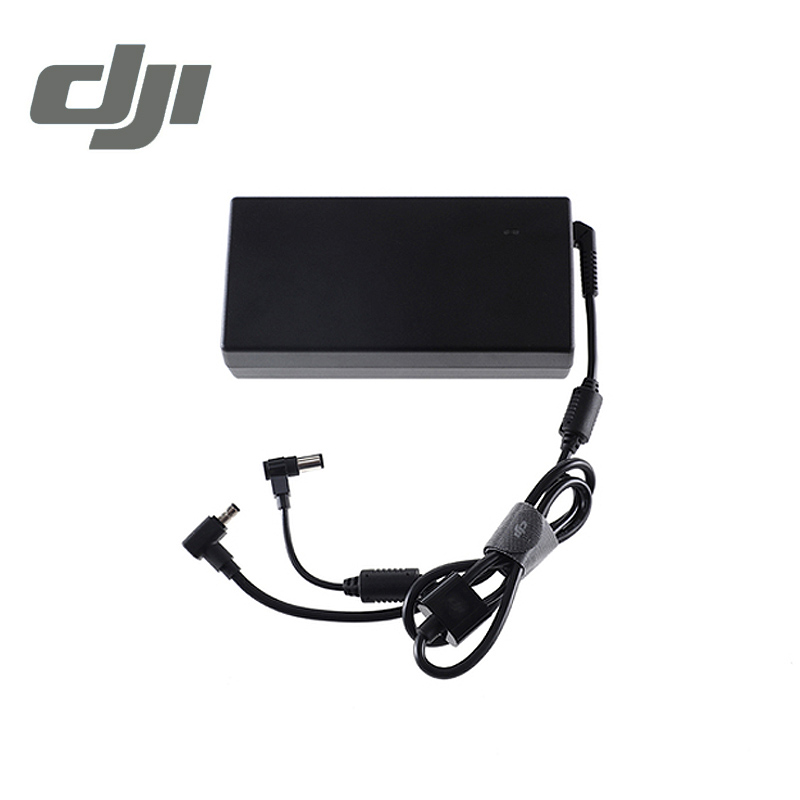 DJI Inspire 2 Battery Charger 180W AC Power Adapter ( Without AC Cable ) for Inspire2 Inspire 1 Drone Adaptor Original dji spark drone 3 in 1 car charger battery charging