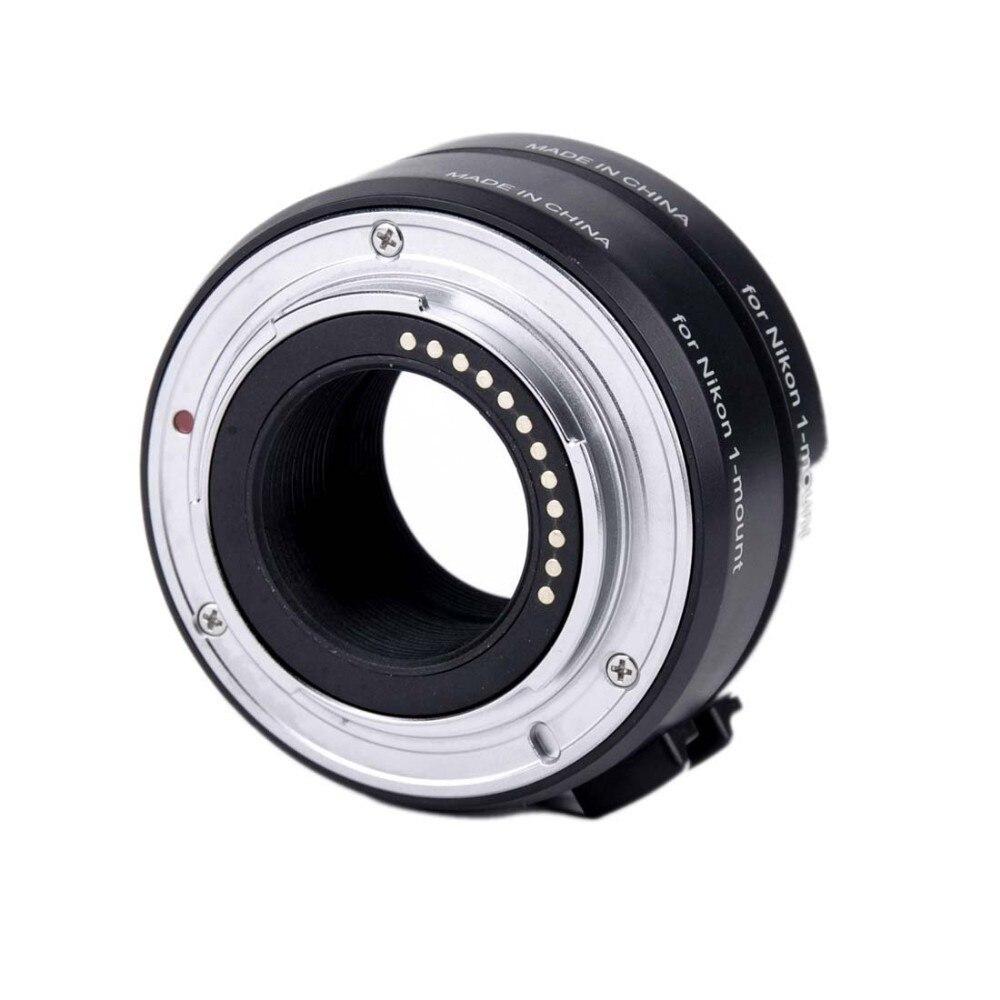 Viltrox DG-1N Auto Focus caméra Macro rallonge Tube 10mm + 16mm adaptateur Set pour Nikon 1 monture objectif J1 J2 J3 V1 - 2